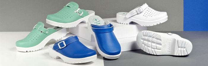 Buty Obuwie Medyczne Zdrowotne Operacyjne Białe Do