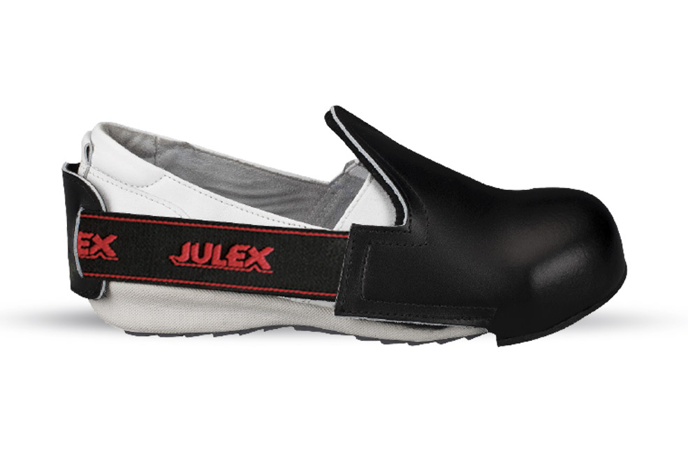Leather Shoe Cover with steel toe-cap 301