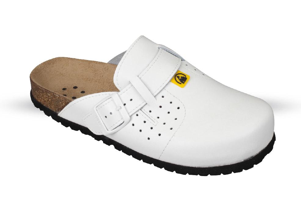 Medical shoes. Shoes for irritable heels. EN-20347. ESD EN 61340