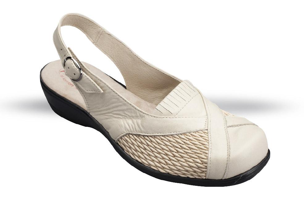 Sandały Ortopedyczne, Komfortowe Damskie 4280 19 Obuwie na