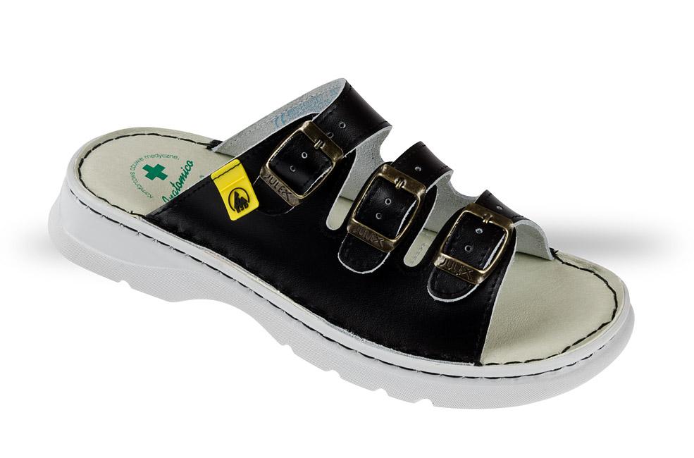b2321c552eb92 Klapki Anatomico 4103-ESD-10 czarne - buty zdrowotne, robocze - Julex
